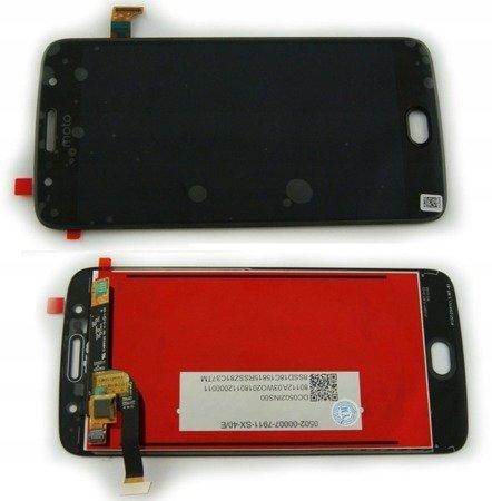 Motorola Moto G5s wyświetlacz LCD+digitizer dotyk czarny